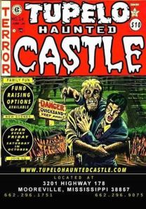 2014 Tupelo Haunted Castle poster!